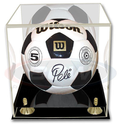 BCW Deluxe Soccer / Volleyball Display Case with Mirror