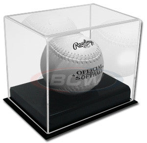 BCW Deluxe Acrylic Softball Display Case
