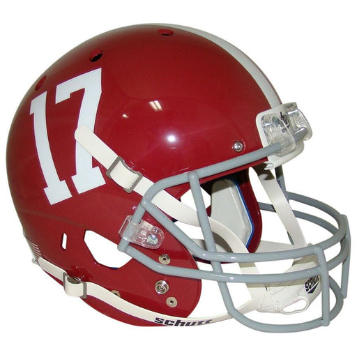 Alabama Crimson Tide Authentic Schutt XP Full Size Helmet - 17