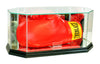 Octagon Boxing Glove Display Case with Mirrors