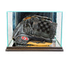 Baseball Glove Display Case with Mirrors