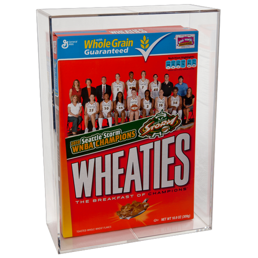 BallQube Cereal Box Holder Display