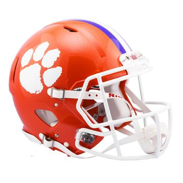 Clemson Tigers Authentic Full Size Speed Helmet