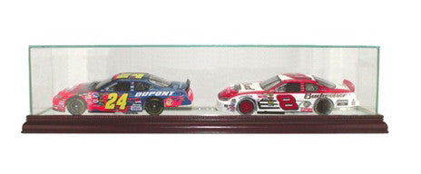 Double 1/24th Car Display Case with Mirrors