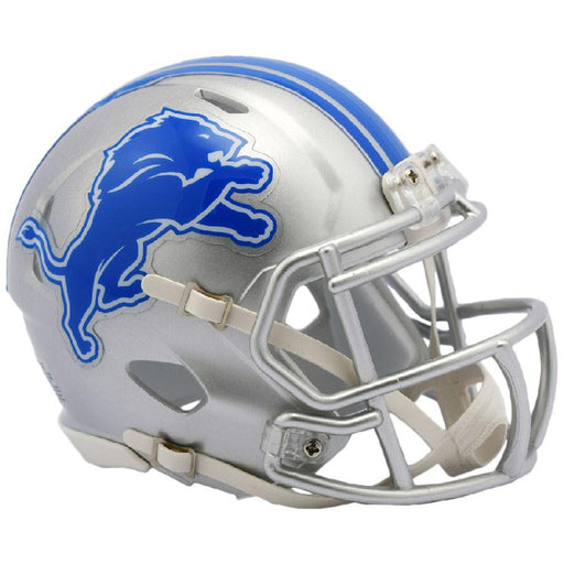 Detroit Lions Riddell Mini Speed Helmet - 2017