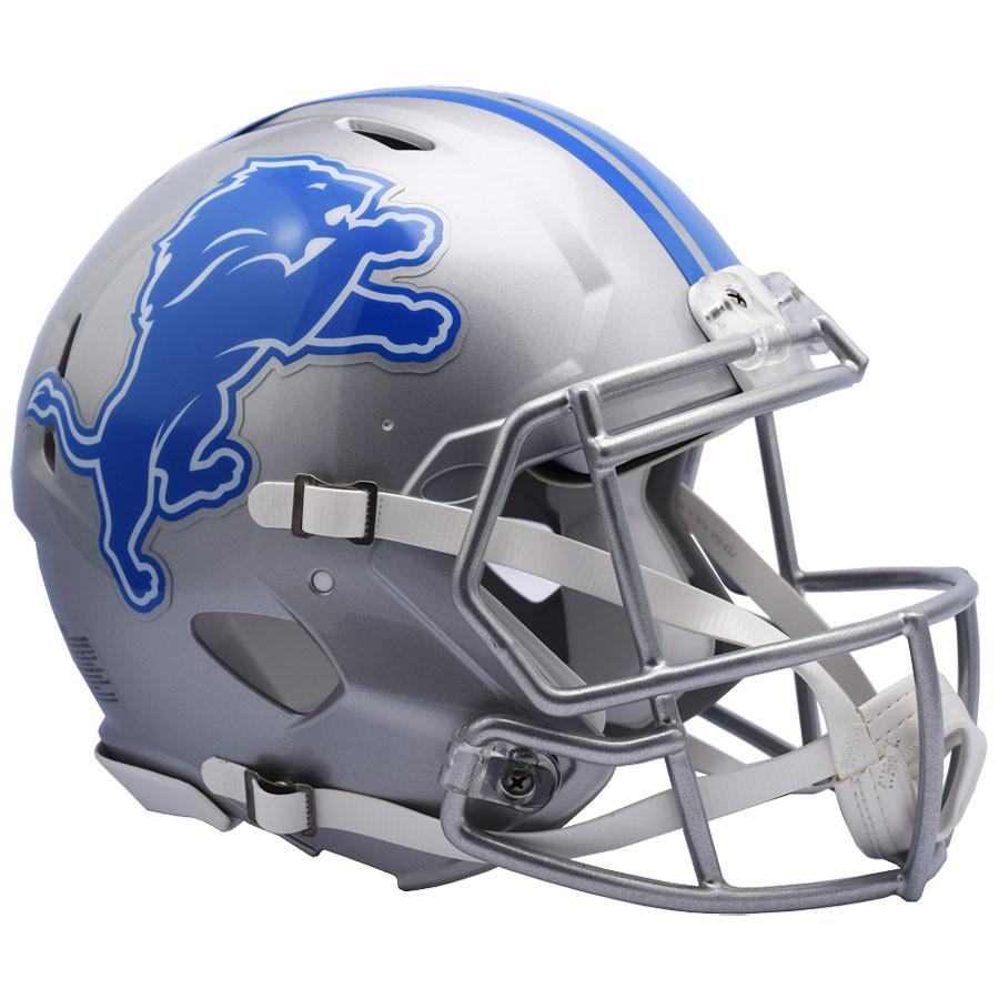 Detroit Lions Authentic Full Size Speed Helmet - 2017
