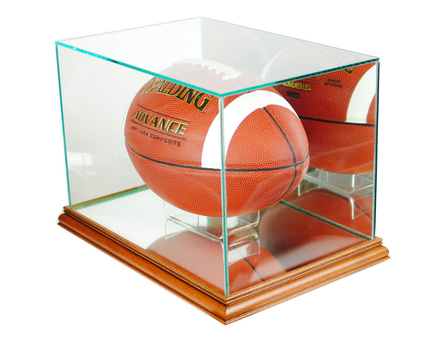 Retangle Football Display Case with Mirrors