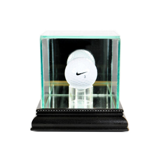 Golf Ball Display Case with Mirrors