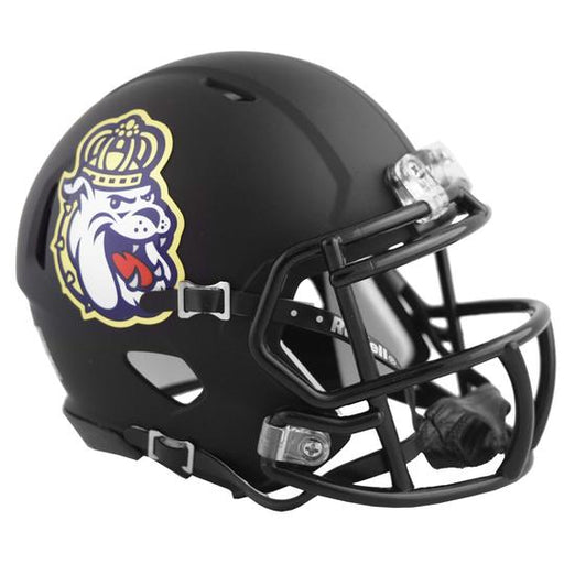 James Madison Dukes Riddell Mini Speed Helmet - 2018 Matte Black