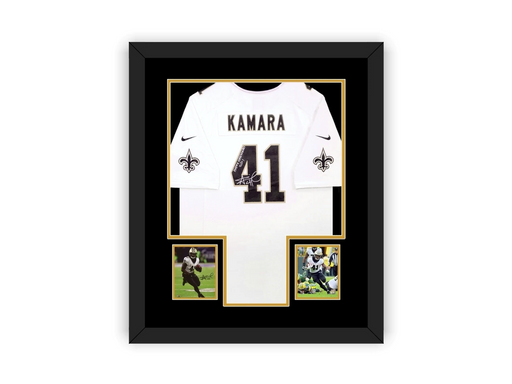 Full Size Jersey Frame with Custom Cutouts