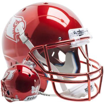 Louisville Cardinals Replica Schutt XP Full Size Helmet - Red Chrome Ali