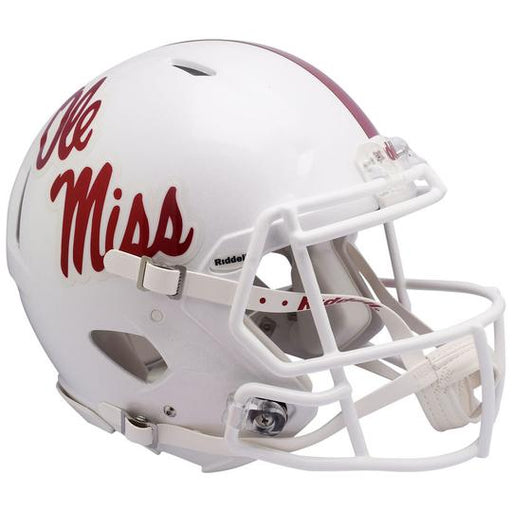 Mississippi (Ole Miss) Rebels Authentic Full Size Speed Helmet - 2018