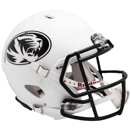 Missouri Tigers Authentic Full Size Speed Helmet - 2018 Matte White