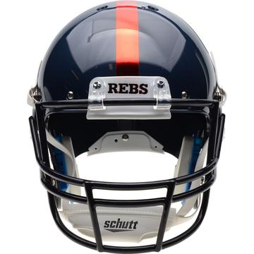 Mississippi (Ole Miss) Rebels Authentic Schutt XP Full Size Helmet - Chrome Decal