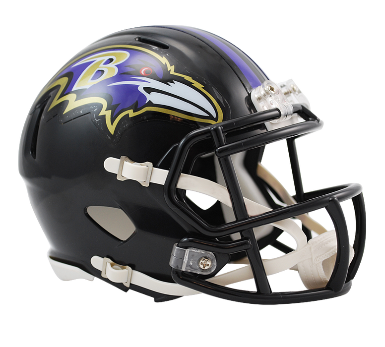 Baltimore Ravens Riddell Mini Speed Helmet