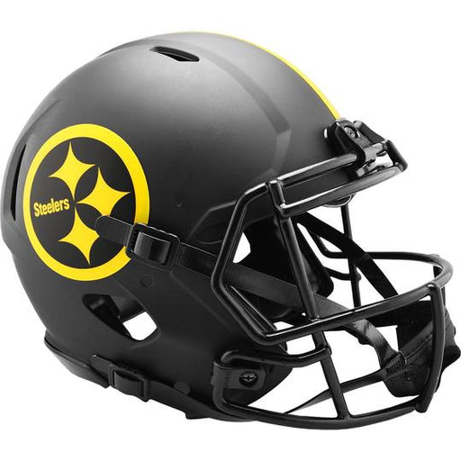 Pittsburgh Steelers Authentic Full Size Speed Helmet - ECLIPSE