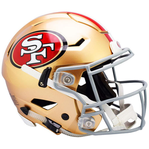 San Francisco 49ers Authentic Full Size SpeedFlex Helmet