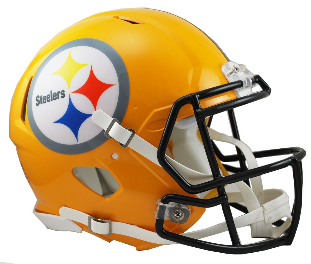 Pittsburgh Steelers Authentic Full Size Speed Helmet - Gold