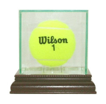 Tennis Ball Display Case with Mirrors