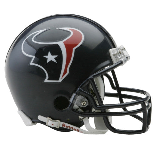Houston Texans Riddell VSR4 Mini Helmet