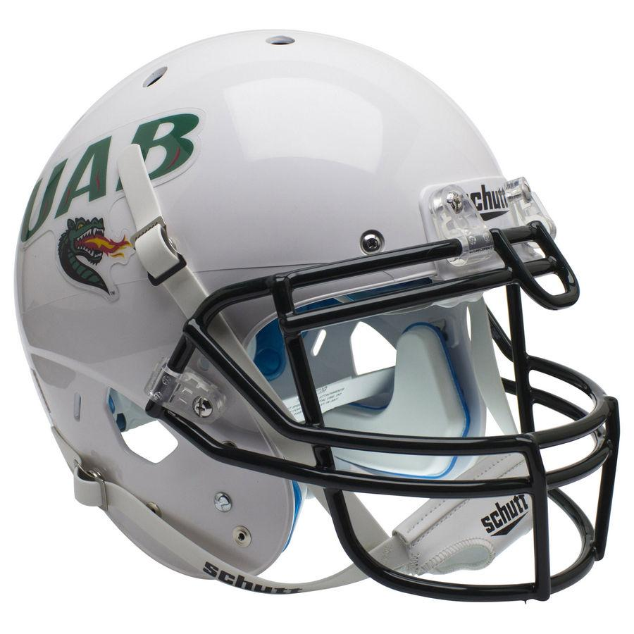 Alabama-Birmingham (UAB) Blazers Authentic Schutt XP Full Size Helmet - White