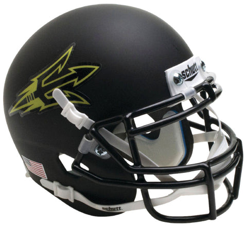 Arizona State Sun Devils Authentic Schutt XP Full Size Helmet - Matte Black Small Decal