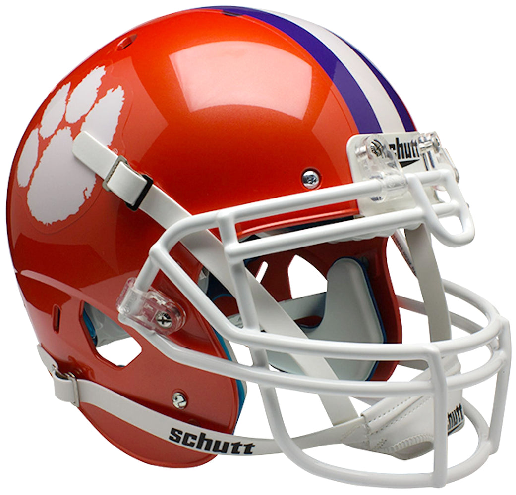Clemson Tigers Authentic Schutt XP Full Size Helmet
