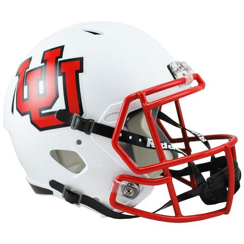 Utah Utes Replica Full Size Speed Helmet - Interlocking U