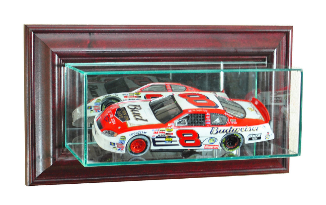 Wall Mounted 1/24th Car Display Case with Mirrors