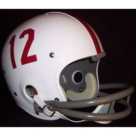 Alabama Crimson Tide 1957 to 1971 Ken Stabler Full Size Throwback Helmet