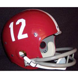 Alabama Crimson Tide 1961 to 1982 Ken Stabler Full Size Throwback Helmet