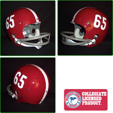 Alabama Crimson Tide 1961 to 1982 Full Size Throwback Helmet - 65