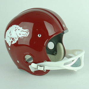 Arkansas Razorbacks 1964 to 1966 Full Size Throwback Helmet