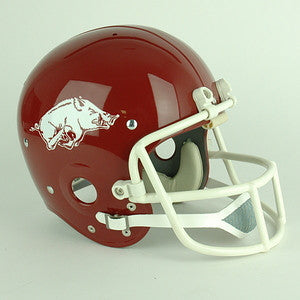 Arkansas Razorbacks 1978 to 1994 Full Size Throwback Helmet