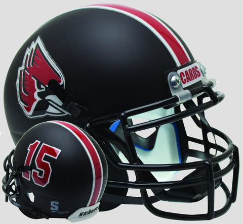 Ball State Cardinals Schutt XP Mini Helmet - Matte Black