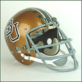 Baylor Bears 1972 to 1978 Mike Singletary Full Size Throwback Helmet