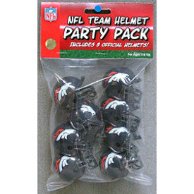 Denver Broncos Pocket Pro Gumball Party Pack Helmets