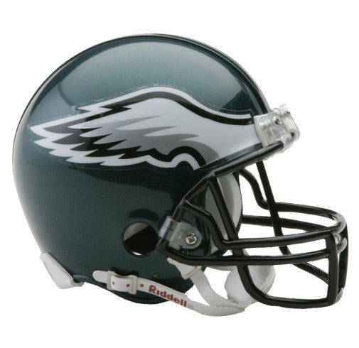 Philadelphia Eagles Riddell VSR4 Mini Helmet