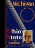 1930 Ohio State Buckeyes vs Michigan Wolverines 22x30 Canvas Historic Football Poster
