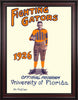 1926 Florida Gators Program 30 x 40 Framed Canvas Historic Football Poster
