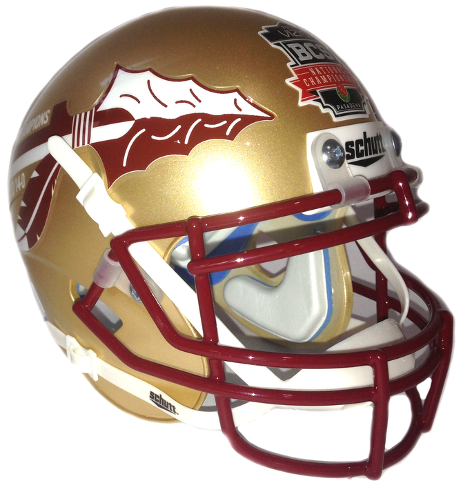 Florida State Seminoles 2013 BCS National Champs Authentic Schutt Full Size Helmet