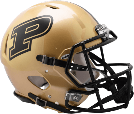 Purdue Boilermakers Authentic Full Size Speed Helmet - 2017