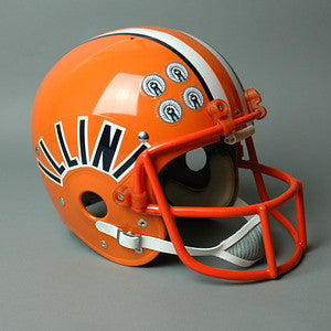 Illinois Fighting Illini 1983 to 1987 Jack Trudeau Full Size Throwback Helmet