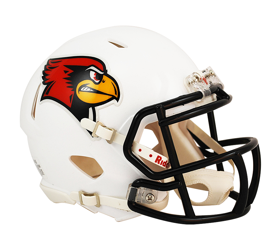 Illinois State Redbirds Riddell Mini Speed Helmet
