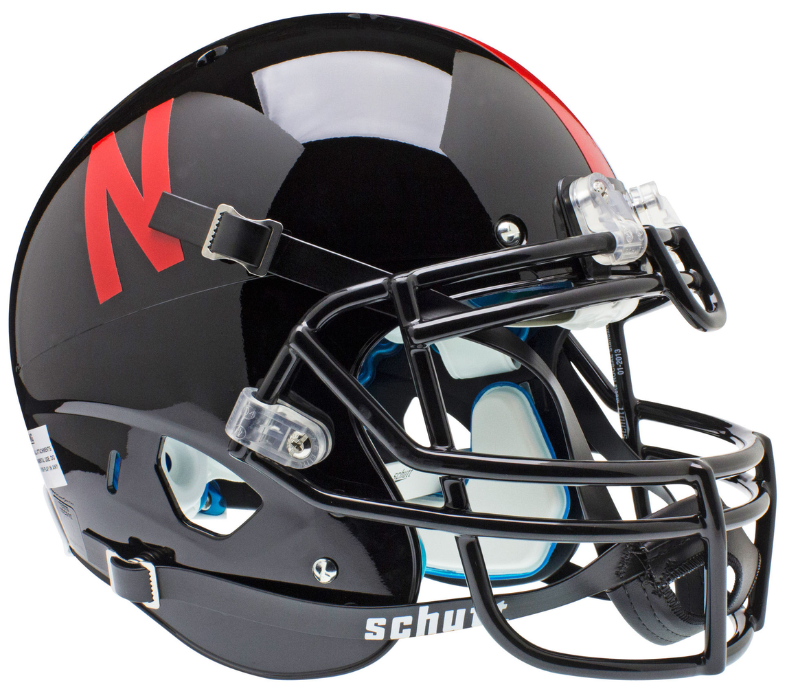 Nebraska Cornhuskers Authentic Schutt XP Full Size Helmet - Black
