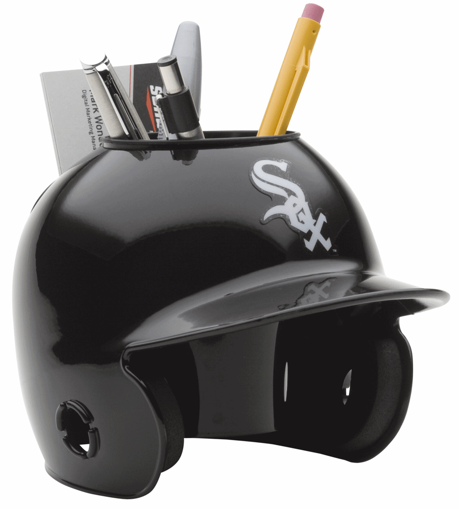 Chicago White Sox Mini Batters Helmet Desk Caddy
