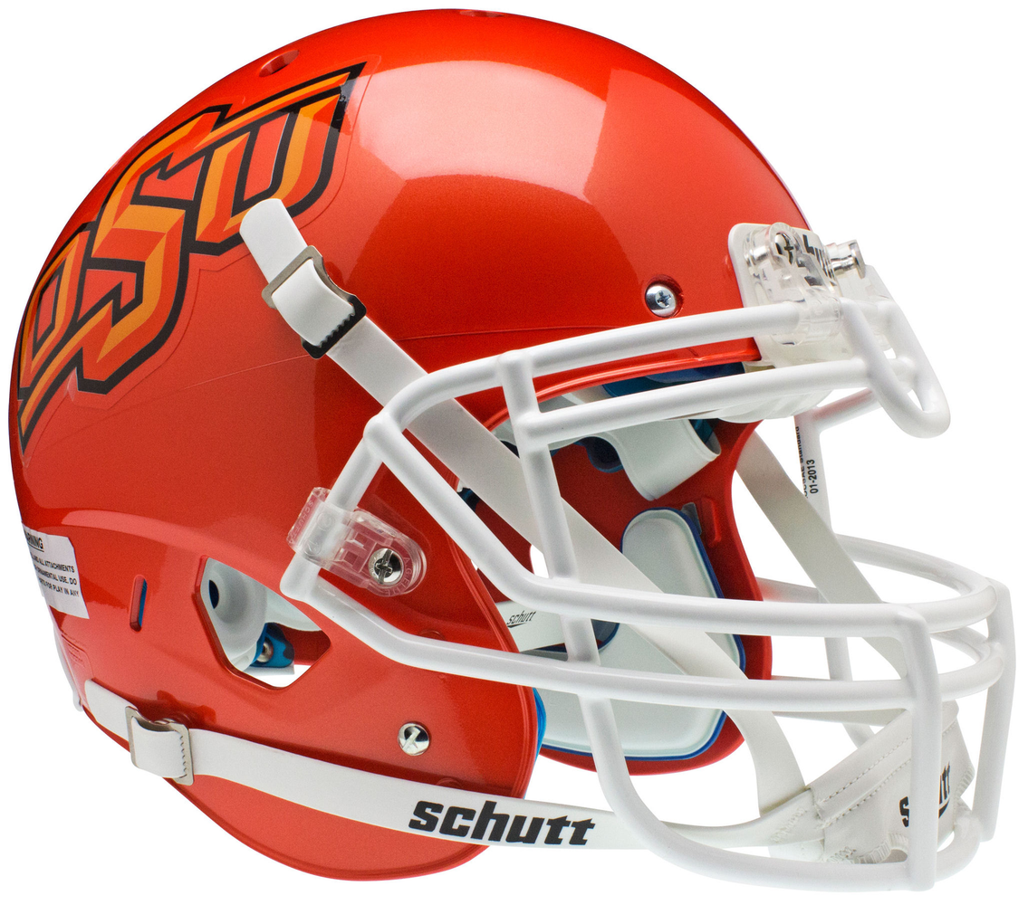 Oklahoma State Cowboys Authentic Schutt XP Full Size Helmet - Orange