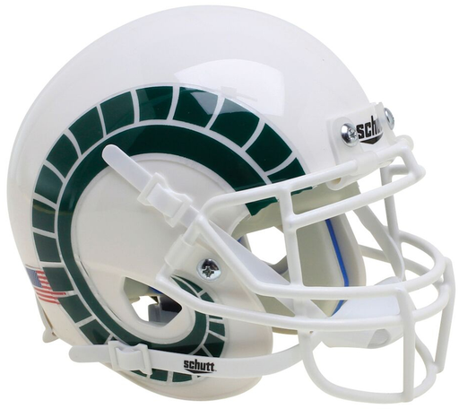 Colorado State Rams Schutt XP Mini Helmet - White with Horns