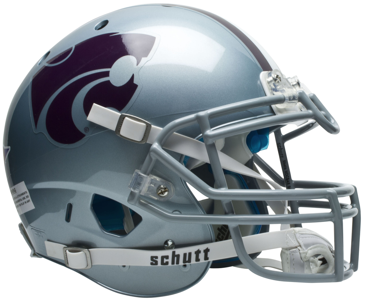 Kansas State Wildcats Authentic Schutt XP Full Size Helmet