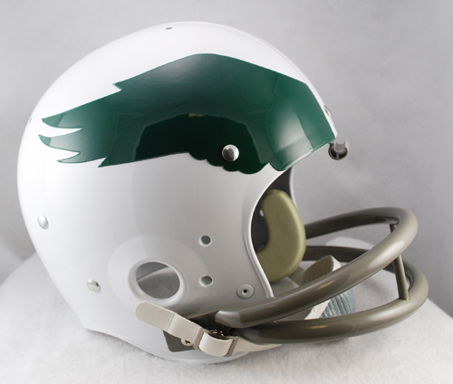 Philadelphia Eagles Replica Full Size Throwback Helmet - 1969 to 1973 TK